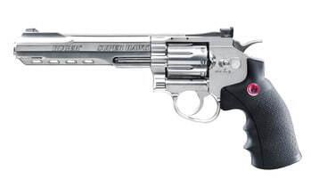 Photo Replica Ruger 8 Super Hawk Silver revolver