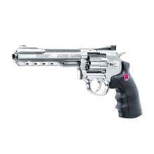 Photo Replica Ruger 6 Super Hawk silver revolver