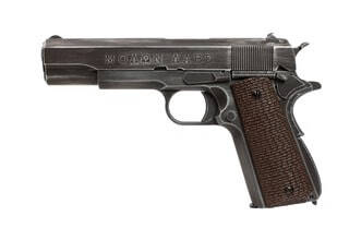 Photo Replica 1911 Molon Labe Grip brown gas GBB
