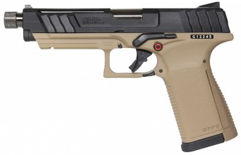 Photo Réplique GBB pistolet GTP9 gaz 0,9J Tan et Noir