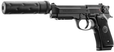 Photo Réplique Beretta M92 A1 Tactical Noir électrique
