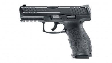 Photo Réplique pistolet à ressort H&K VP9 HME culasse métal 0,5J