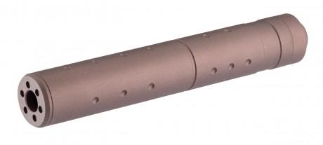 Photo Silencieux aluminium 195mm 14mm CCW FDE