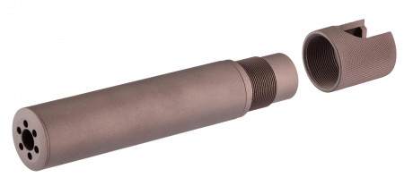 Photo Gap Style QD Silencer FDE