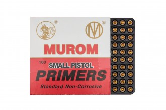 Photo Amorces Murom type Boxer Large Pistol