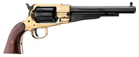 Photo Revolver Remington 1858 laiton Pietta