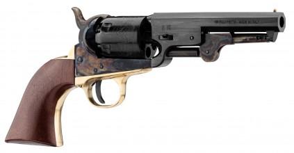 Photo Revolver Pietta Colt RebNorth Sheriff jaspé cal.36 ou 44
