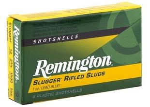 Photo Cartouche Remington à balle slug - Cal. 12/70