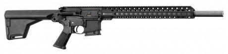 Photo Carabine semi-automatique Schmeisser AR15 UM BRUN cal. 223 REM