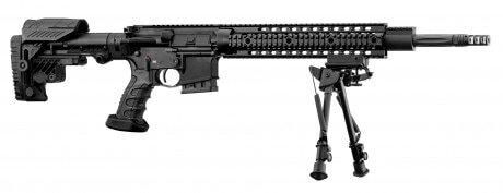 Photo Carabine semi-automatique Schmeisser AR15 DMR 18'' cal. 223 REM