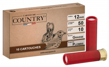 Photo Cartouches Country - Cal 12 mm