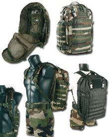 Photo 40 liters military assault bag