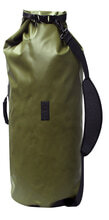 Photo Waterproof bag with shoulder strap GREEN