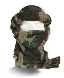 Photo Camo barracuda net scarf