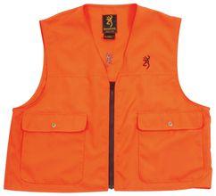 Photo Browning Safety Vest X-treme Tracker Neon Orange