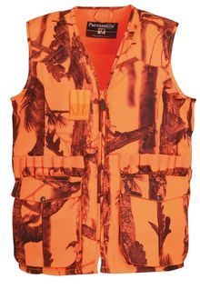 Photo Stronger Ghost Camo Forest Fluo Hunting Vest - Percussion