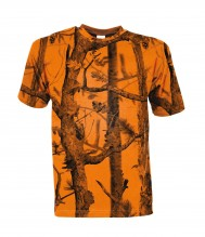 Photo Ghost Camo Forest Fluo Hunting T-shirt - Percussion