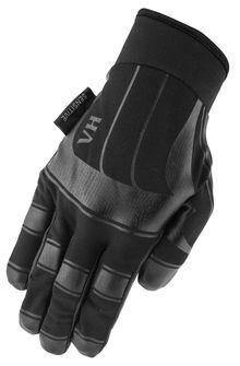 Photo Black gloves of palpation sensitive