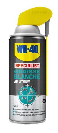 Photo WD40 spray graisse blanche lithium