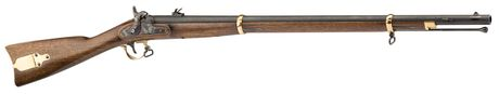 Photo Musket Zouave 1863 Match 33 '' with cal. 58
