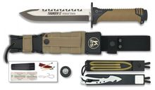 K25 Thunder II straight survival knife
