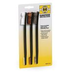 Set of 3 cleaning brushes - Birchwood CaseySet of 3 cleaning brushes - Birchwood Casey
