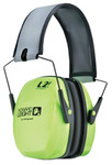 Leightning L2FHV High Visibility Foldable Noise Canceling Headphones - Bilsom
