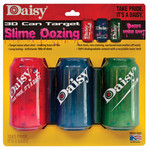 Target Daisy 3 3D cans
