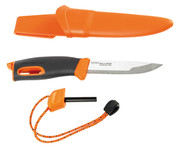 Swedish Light My Fire survival knife with fire lighter