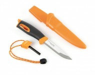 Swedish Light My Fire Bio Plastic survival knife with fire lighter