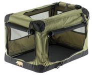 Foldable niche nomad for small or large dog