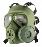 Fake OD gas mask