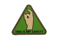 PVC Patch This is my Safety