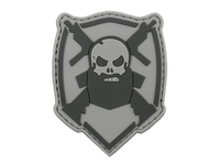 PVC Beard and Gun Patch