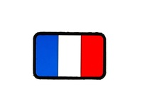 PVC Flag France Patch
