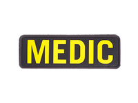PVC Medic patch Yellow and black