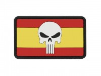 PVC Flag Spain Skull Patch