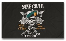 Photo Drapeau US Special Forces