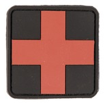 PVC patch first aid cross red 5.5 x 5.5cm
