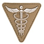 Medical PVC patch Tan 7 x 7cm