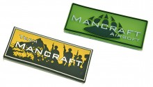 Patch PVC Mancraft Team