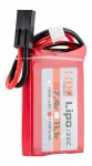 1 stick 2S 7.4V 1200mAh 25C Lipo battery Peq