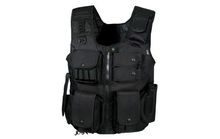 Photo Gilet tactique Noir Swat law enforcement