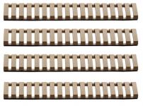 Lot de 4 cache rail tan - G&G