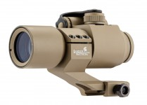 Red and Green Dot scope with Cantilever Mount tan