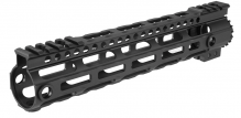 Garde main M-LOK free floating 10,5' noir