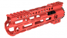 Garde main M-LOK free floating 7' rouge