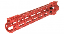 Garde main M-LOK free floating 12,5' rouge
