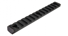 Photo Rail M-LOK 13 slots Noir