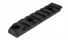 Rail Keymod 7 slots avec attache sangle QD Noir